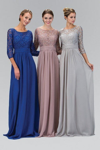 Sleeve Evening dress  103-GL1409 - Simply Fab Dress