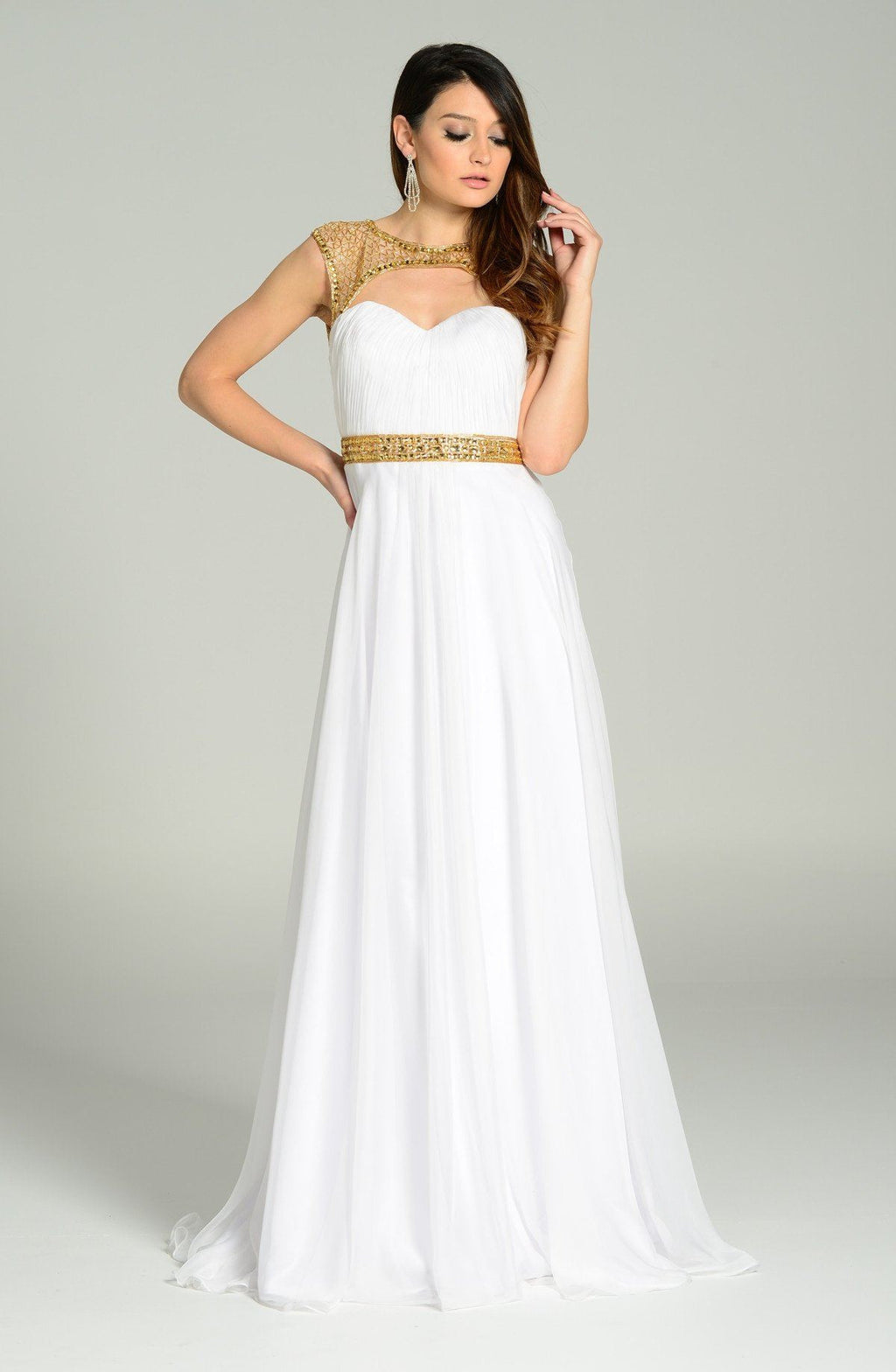 Elegant evening dress 101- 7182 - Simply Fab Dress