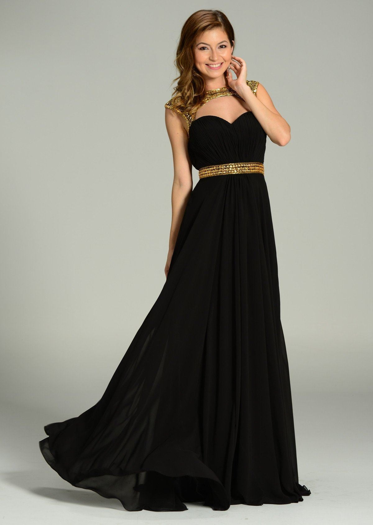 Elegant evening dress 101- 7182 – Simply Fab Dress