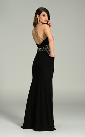 Elegant evening dress 101-7270 - Simply Fab Dress