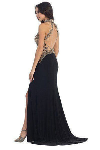 Cheap Beautiful fitted evening dress 107-7046 - Simply Fab Dress