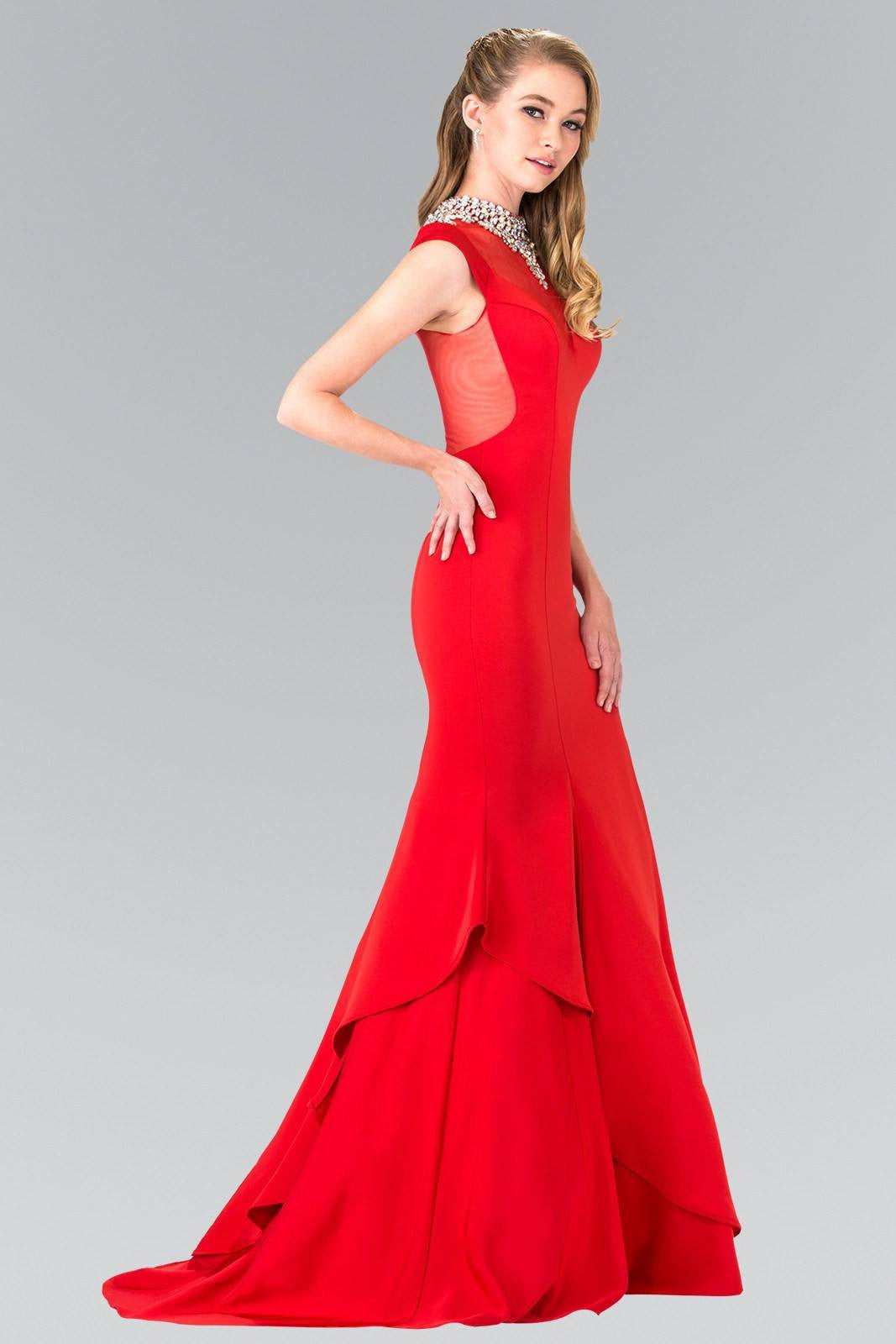 Plus prom dresses with sleeves