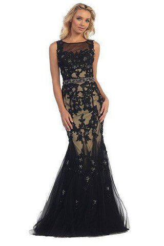 Cheap Lace Evening dress 107-5949 - Simply Fab Dress
