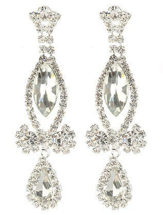 Gorgeous fashion earrings MME24732 RDCLR - Simply Fab Dress