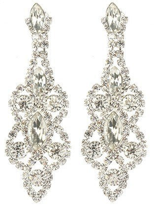 Gorgeous fashion earrings MME24745 RDCLR - Simply Fab Dress