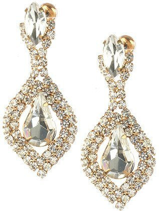 Gorgeous fashion earrings MME24753GDCLR - Simply Fab Dress