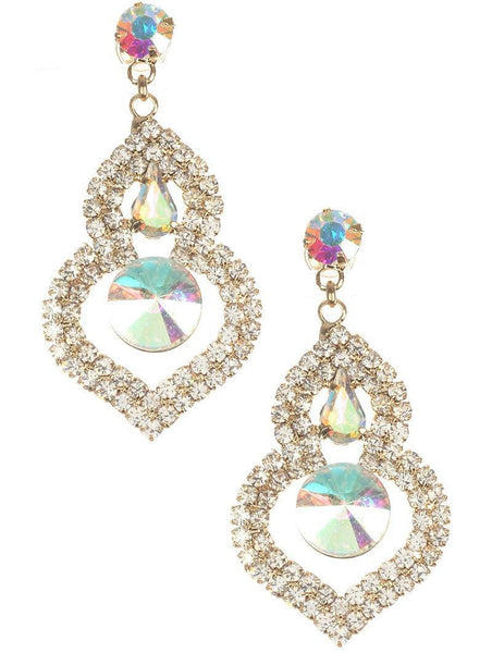 Gorgeous fashion earrings  MME24757GDAB - Simply Fab Dress