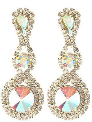 Gorgeous fashion earrings MME24759GDABO - Simply Fab Dress