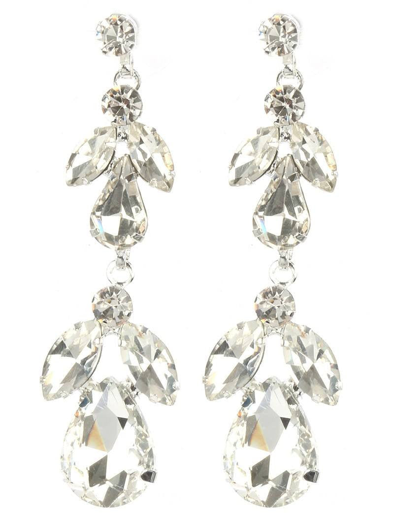 Gorgeous rhinestone fashion earrings  MME24744RDCL - Simply Fab Dress