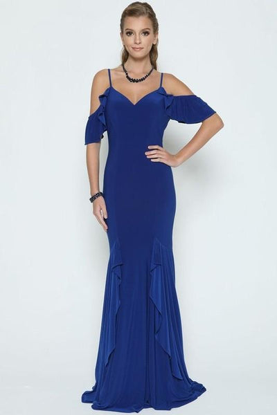 Off the shoulder formal dress JL664-Simply Fab Dress