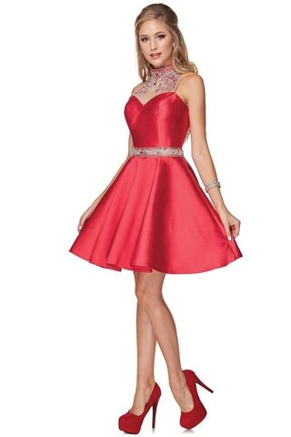4a052d15835 Short red prom dress JS770-Simply Fab Dress
