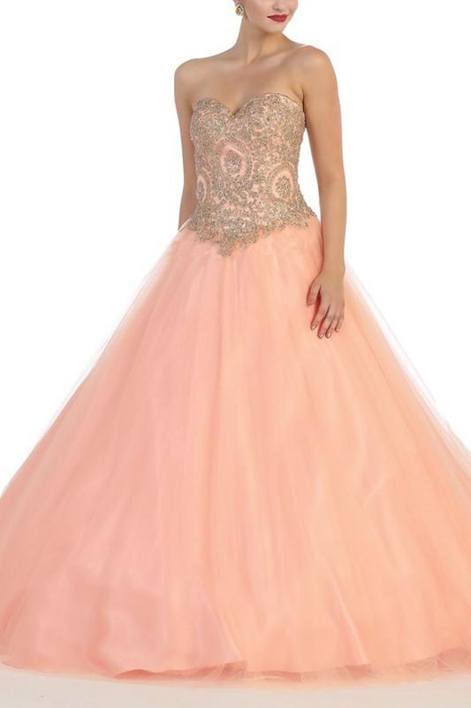 plus size sweet 15 quinceanera dress Mayqueen LK74 - CLOSEOUT ...