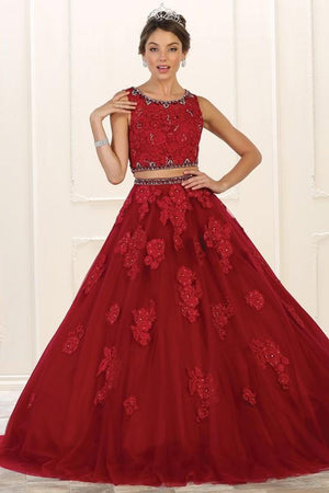 2 Piece Quinceanera Dress Lk90-Simply Fab Dress