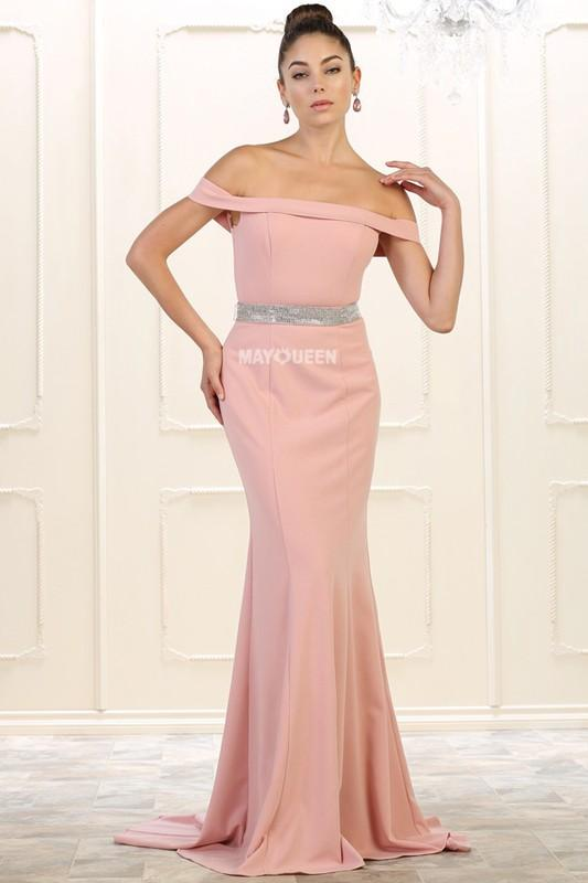 Sexy bridesmaid dress & Off the shoulders gown MQ1545 - CLOSEOUT