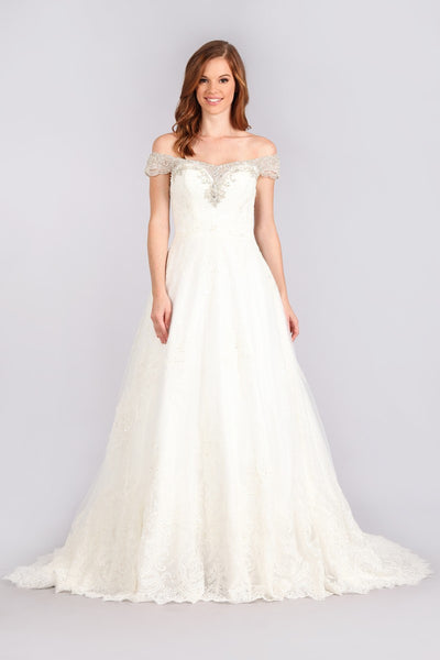 Stunning mermaid wedding dress-mt 216 Affordable wedding dress - Simply Fab Dress