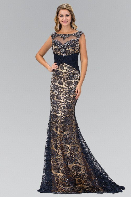Long Evening Gown Lace Formal Dress Simply Fab Dress