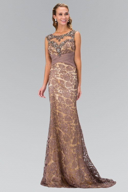 Long evening gown & lace formal dress – Simply Fab Dress