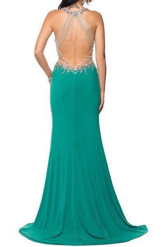 Long Prom Dress & Pageant dress 101-619 - Simply Fab Dress