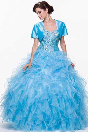 Ball gown Quinceanera sweet 16 prom dress jul#305 - Simply Fab Dress
