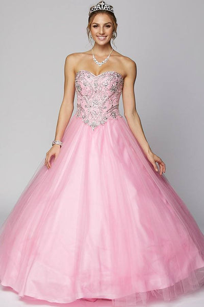 Ball gown Quinceanera sweet 16 prom dress jul#347 - Simply Fab Dress