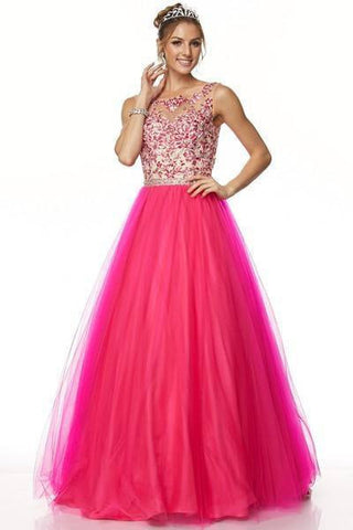 Ball gown Quinceanera sweet 16 prom dress jul#360 - Simply Fab Dress