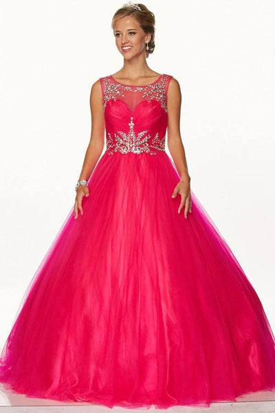Ball gown Quinceanera sweet 16 prom dress jul#647 - Simply Fab Dress