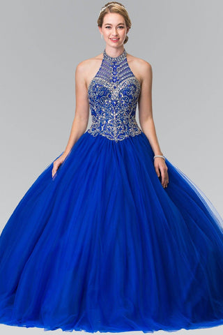 Cheap Ball gown prom dress Quinceanera sweet 16 dress gl2308blue - Simply Fab Dress