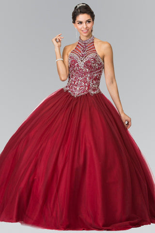 Cheap Ball gown prom dress Quinceanera sweet 16 dress gl2308burg - Simply Fab Dress