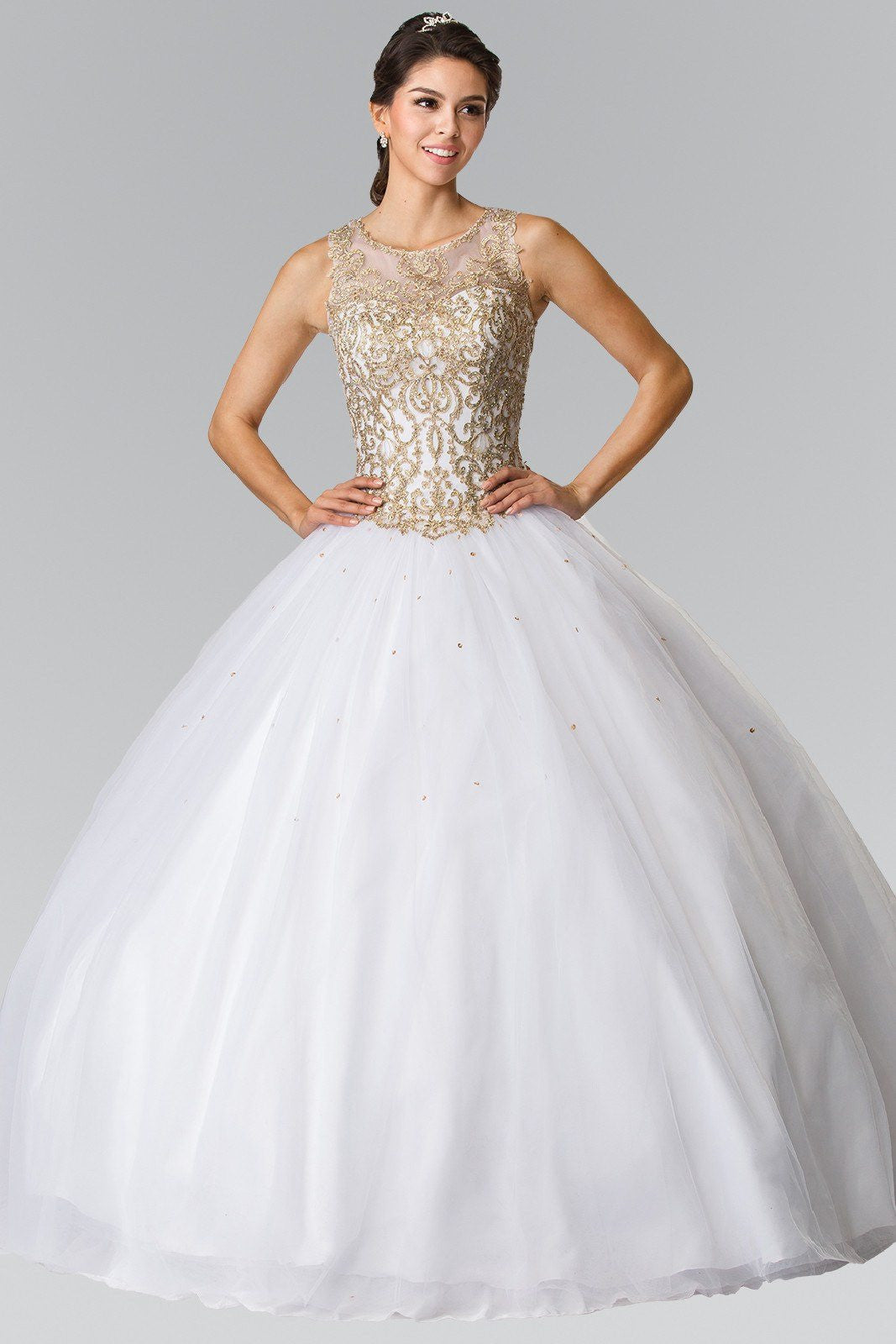 Cheap Ball Gown Wedding Amp Quinceanera Dress Simply Fab Dress