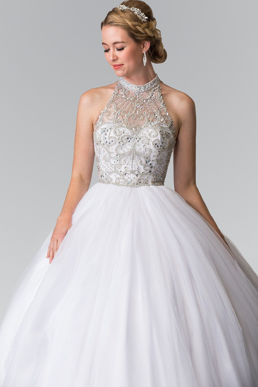 Affordable Wedding Gown & Quinceanera Dress gl2206 - CLOSEOUT ...