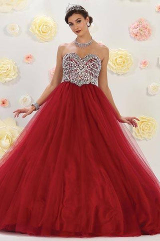 Cheap Ball gown Quinceanera sweet 16 prom dress mq-lk70 - Simply Fab Dress
