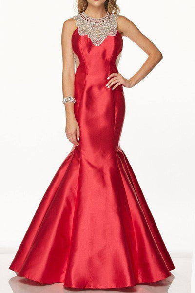 Glamorous mermaid prom dress 105-629 - Simply Fab Dress
