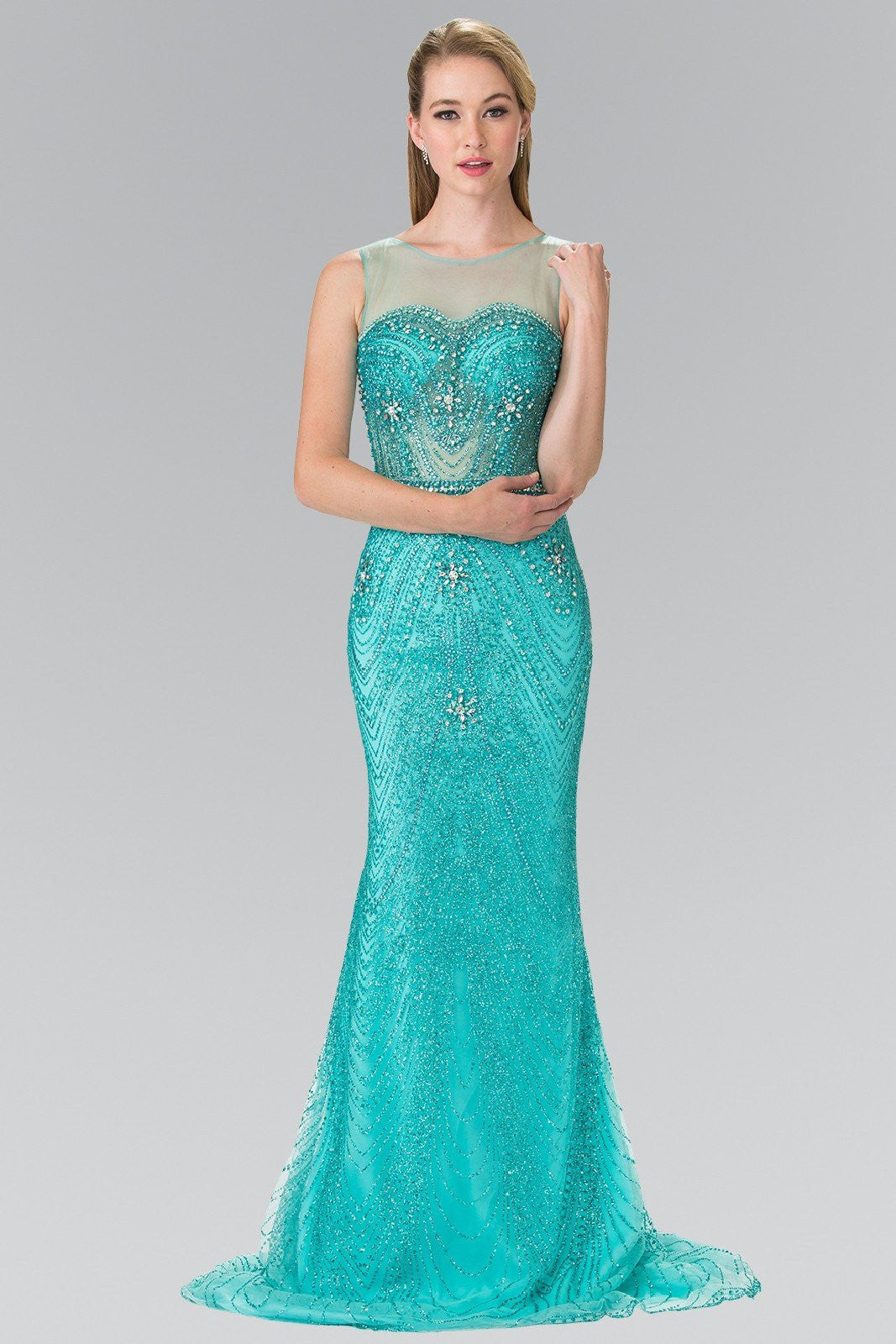 Sexy prom dresses- Gorgeous fully beaded sequins prom – Simply Fab ...
