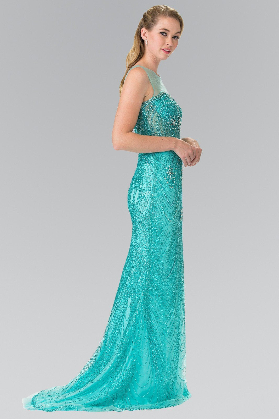 Sexy prom dresses- Gorgeous fully beaded sequins prom – Simply Fab Dress
