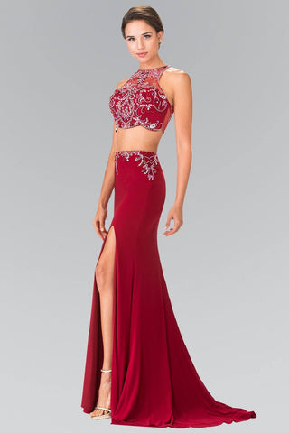 Cheap Sexy 2 piece formal dress # GL2277 - Simply Fab Dress