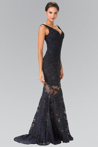 Gorgeous full sequins mermaid prom dress #GL2337