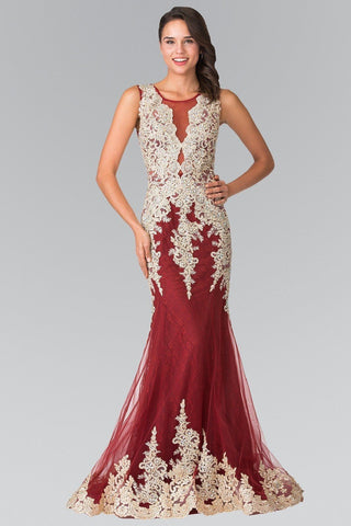 Beautiful evening dress 100-rq 7429