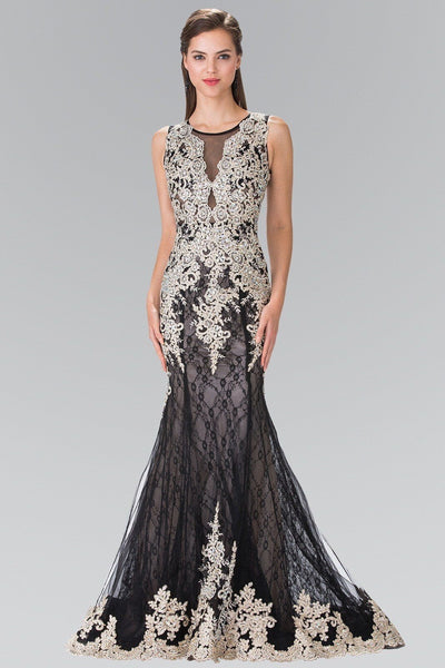 Cheap Glamorous Champagne Mermaid Prom dress #gl1462 - Simply Fab Dress