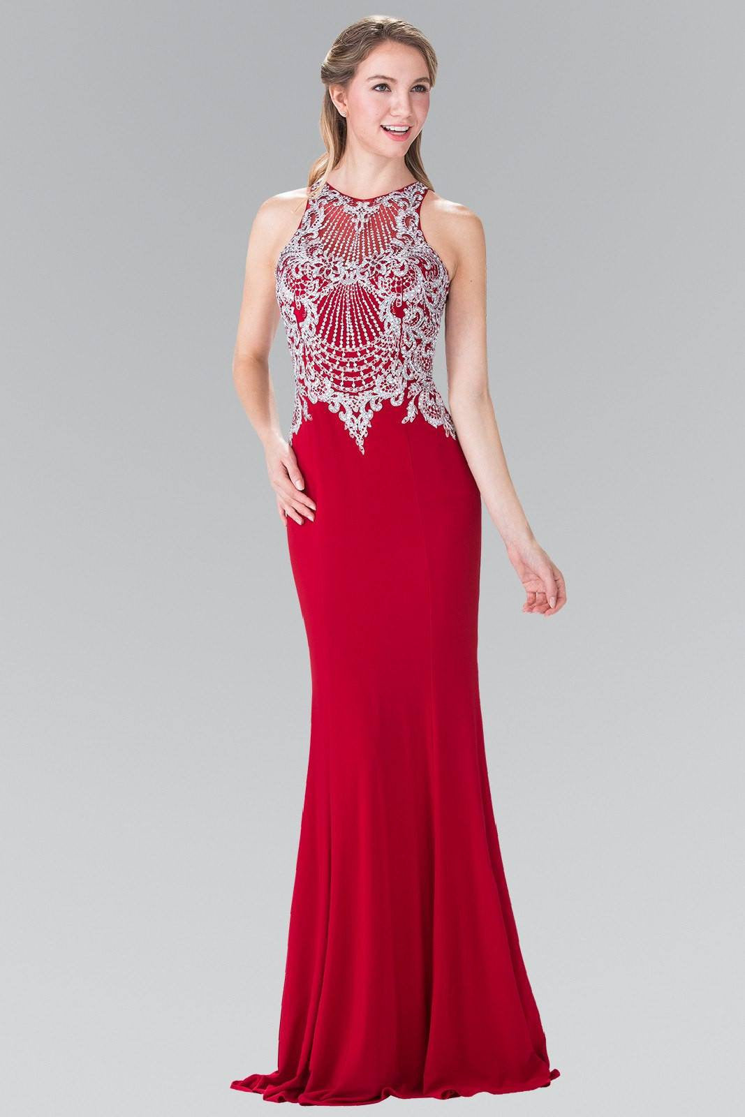 Sexy Prom Dresses- Trendy Fully Beaded Bodice Prom D