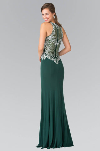 Cheap Trendy fully beaded  bodice prom dress #GL2232 - Simply Fab Dress
