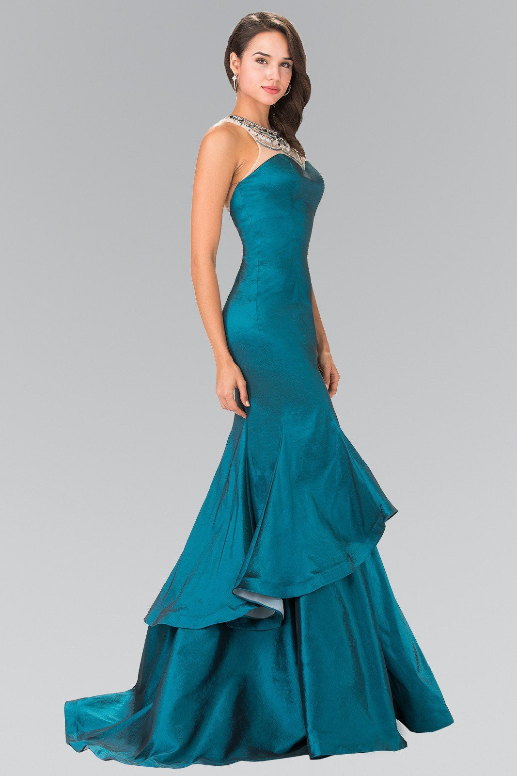 mermaid Satin prom dress #gl2290 – Simply Fab Dress