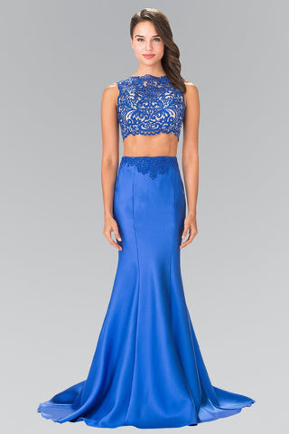 Sexy 2 piece cheap prom dress with mermaid skirt #Gl2281 - Simply Fab Dress