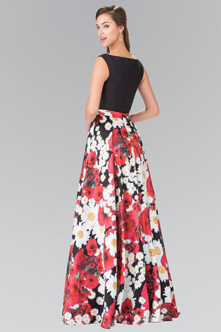 Cheap 2017 prom trend- Floral prom dress # GL2266 - Simply Fab Dress