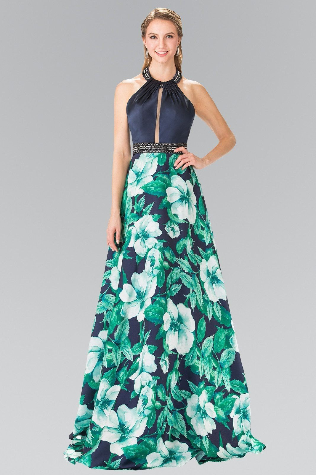 Long Floral prom dress GLS 2302 – Simply Fab Dress