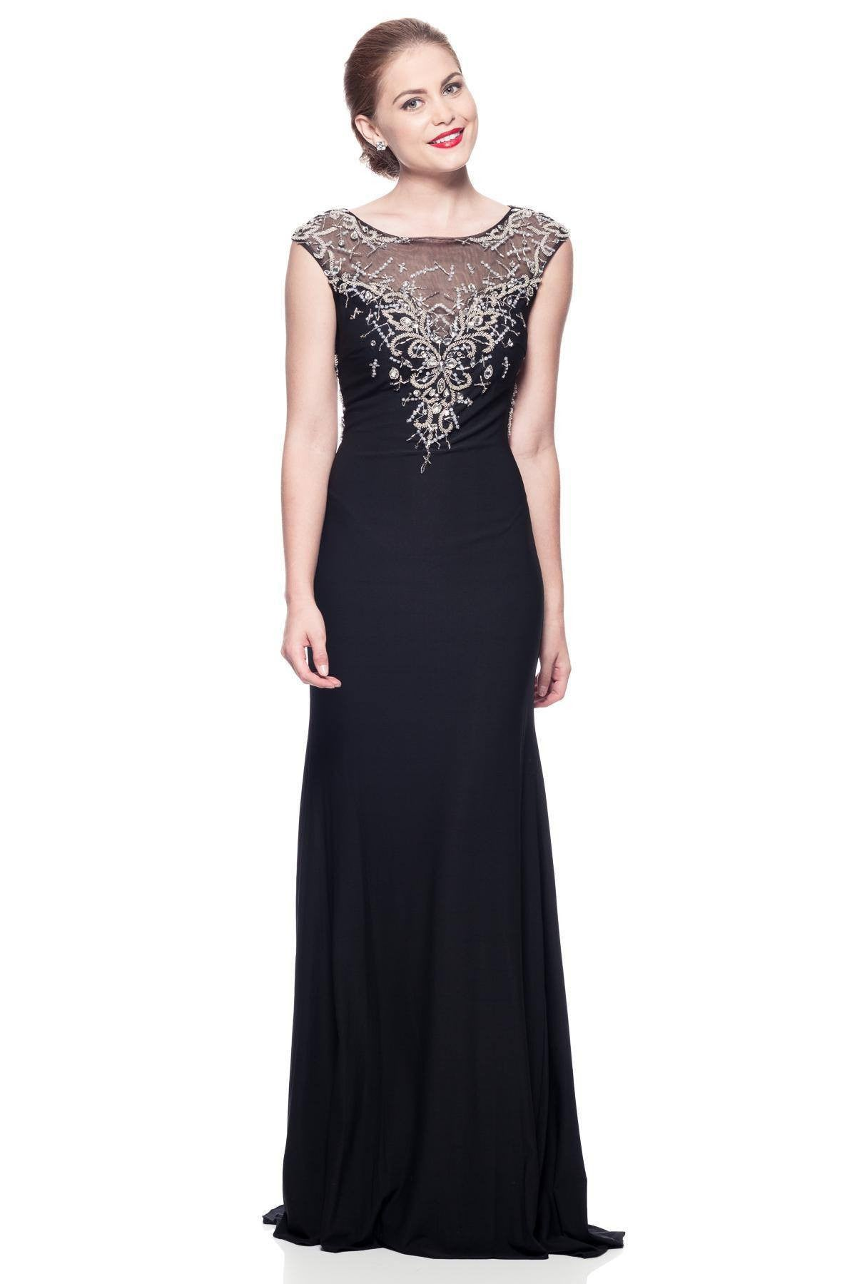 Black Tie Formal Dress Bcks735 Simply Fab Dress