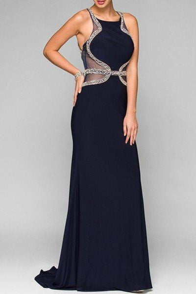 Cheap Fitted floor length dress 105-625 Prom dress - Simply Fab Dress