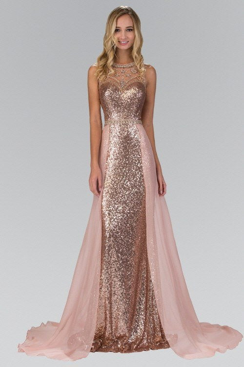 Cheap Fully Sequinced Fitted Dress 103-GL1400 Prom dress - Simply Fab Dress