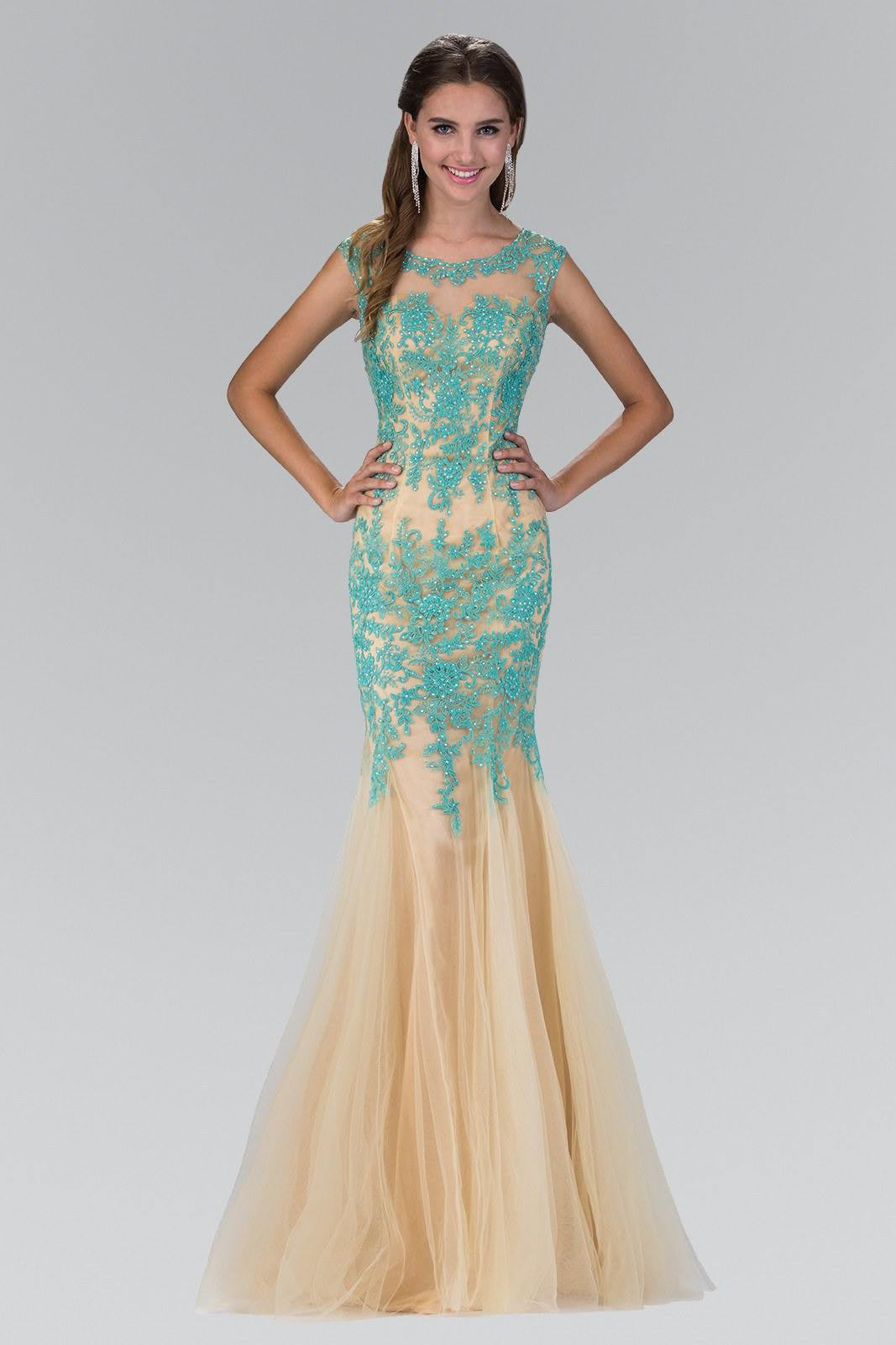 Sexy prom dresses- Glamorous Lace Mermaid Prom dress – Simply Fab Dress