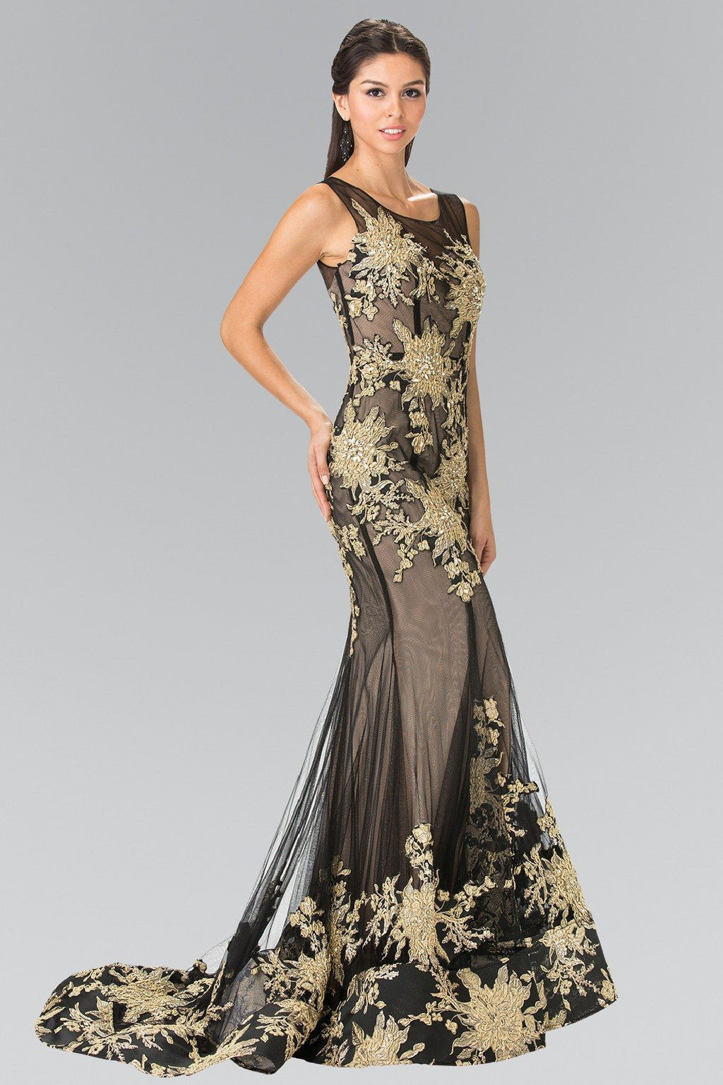 Cheap Glamorous Lace Mermaid Prom dress #GL2335 - Simply Fab Dress
