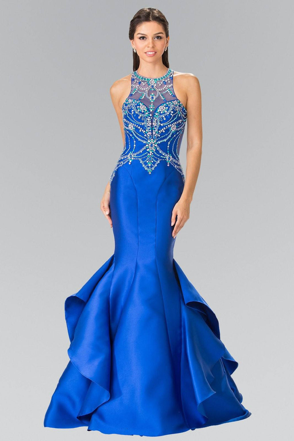 Cheap Glamorous sexy back Mermaid Prom dress #gl2357 - Simply Fab Dress